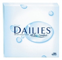 Focus DAILIES Contact Lenses (90-pack)