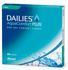 Focus DAILIES Toric Contact Lenses