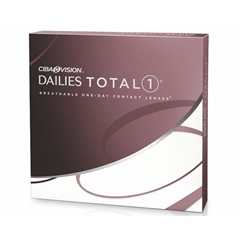 Focus DAILIES Total 1 contact lenses