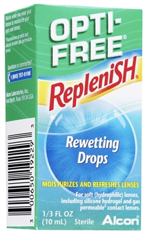 Opti-Free Replenish Rewetting Drops