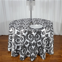 Flocking Taffeta Tablecloth
