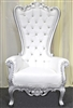 Silver Throne Chair