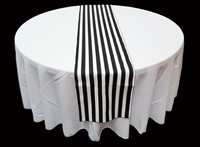 Striped Poly Cotton Table Runners