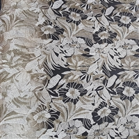 Embroidered flower Sequin fabric