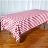 Gingham Checker Tablecloths