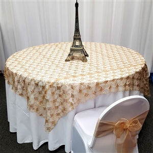 Cord Diamond Hologram Table Overlays