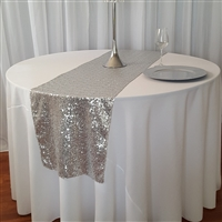 "Mini Glitz Sequin Table Runners 16"" x 108"""