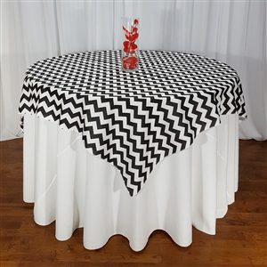 Chevron Table Overlays