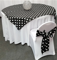 Polka Dot Table Overlays