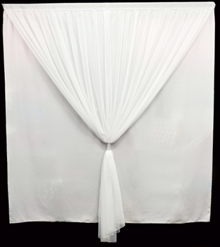 Polyester and Voile Fabric Panel