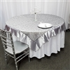 Swirl Organza Table Overlays