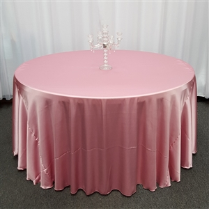 Round Satin Tablecloths