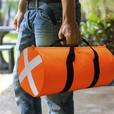 Caribee <br> CENTURY High Visibility Safety Duffel - Hi Vis Orange