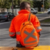 Caribee<br>CALIBRE High Visibility Safety Backpack - Hi Vis Orange