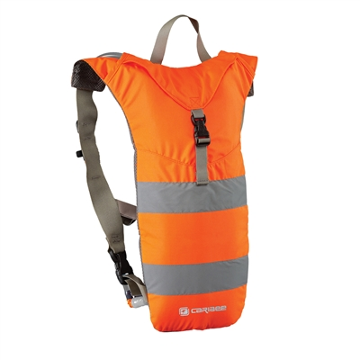 Caribee<br>NUKE Hi Vis 3L High Visibility Hydration Backpack - Hi Vis Orange