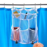 Talus Hanging Mesh Shower Organizer