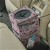 Talus High Road Sahara StashAway Console Car Trash Can and Auto Litter Bag