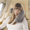 Smooth Trip SoftBend Memory Foam Travel Pillow for Neck and Lumbar Support
