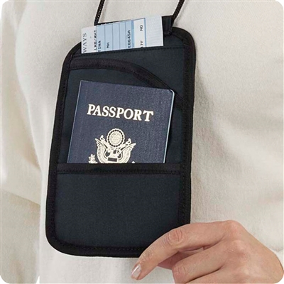 Talus Smooth Trip RFID Travel Document Holder