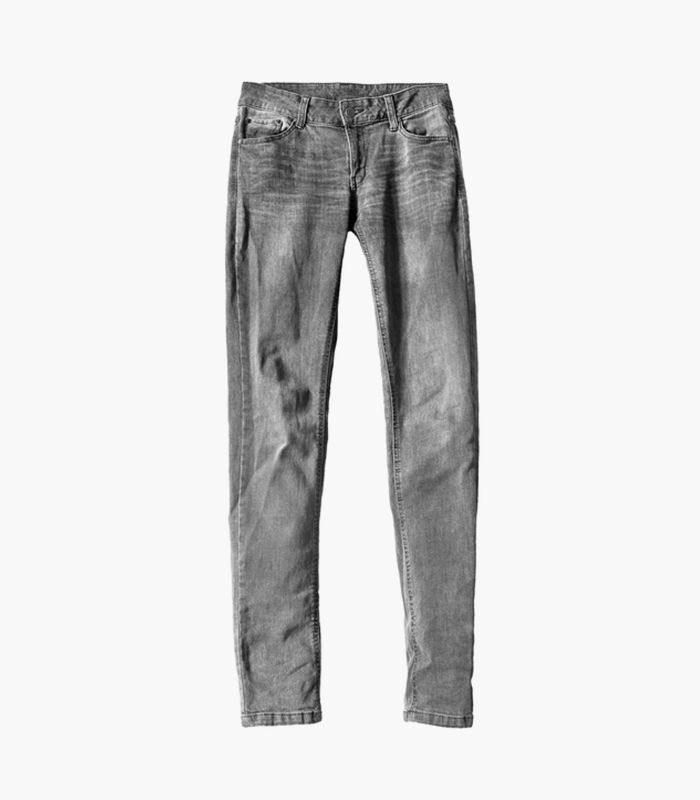 Ligature High-Rise Jeans