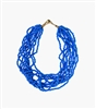 Phoebe Azure Statement Necklace