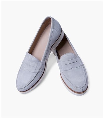 Sofia Loafers in Lavender