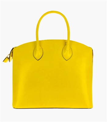 Lily Yellow Tote Bag