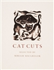 photo of Cat Cuts by Miriam Macgregor, a lovely collection of engraved cats selected by MacGregor from among some of the finest illustrations of cats produced by fellow internationally renowned engravers. Charming and humorous, peaceful and vibrant.