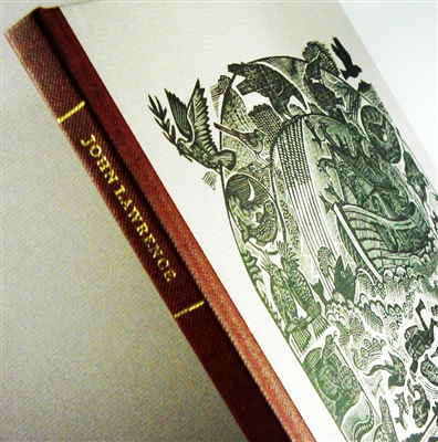 cover of signed limited edition of wood engravings by John Lawrence