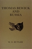 "cover of ""Thomas Bewick and Russia"" by W E Butler describing Bewick's profound influence on Russian artists"