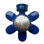 004076 QVS Standard Series Blue Flower Metal Square Sprinkler