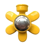 QVS Standard Series Yellow Metal Flower Sprinkler 004038