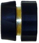 QVS Female Brass Quick Connect With Check valve Shut-off