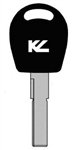 HU66T6 VW KEYLINE TRANSPONDER KEY BLANK