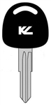BHU46T2 CADILLAC KEYLINE TRANSPONDER KEY CLONABLE