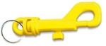 PLASTIC KEY CLIP MODEL  1111 YELLOW 20 PIECE BOX