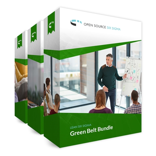 Lean Six Sigma Green Belt Bundle by Open Source Six Sigma