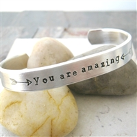 You Are Amazing in Bed Bracelet, double sided