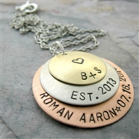 Personalized 3 Layer Necklace