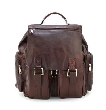 Aspen Leather Backpack Style:1005