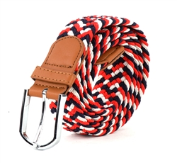 StretchBelt Style : 120-Red White And Blue