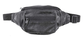 MEDIUM LEATHER FANNY PACK: STYLE #: 1207