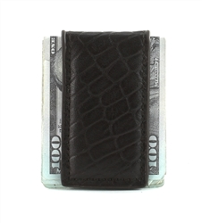 MONEY CLIP : 1410 - BROWN