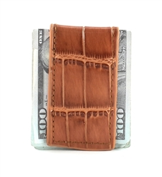 MONEY CLIP : 1410 - TAN