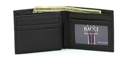 RFID BI FOLD WALLET WITH CENTER FLAP  STYLE : 1452