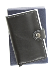 RFID SAFE CARD CASE BLACK