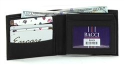 Top Flap Bifold Wallet Style : 15561