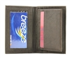 Top Grain Cowhide Card Case with Center Flap Style : 15565