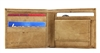 Top Grain Cowhide Bi-fold Wallet with Coin Pocket Style : 15572