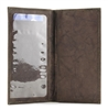 Top Grain Cowhide Check Book Cover Style : 15609